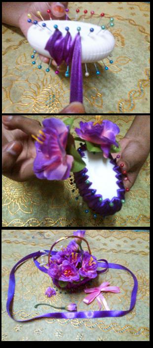 kerajinan tangan dari sabun menjadi bunga cantik
