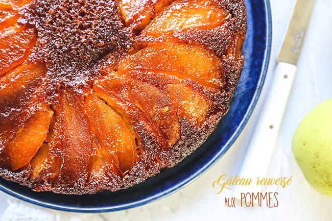 recette gateau pommes