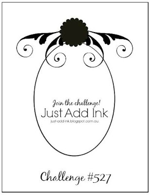 Jo's Stamping Spot - Just Add Ink Challenge #527