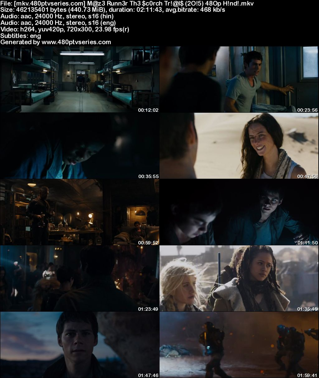 Maze Runner: The Scorch Trials (2015) 450MB Full Hindi Dual Audio Movie Download 480p Bluray Free Watch Online Full Movie Download Worldfree4u 9xmovies