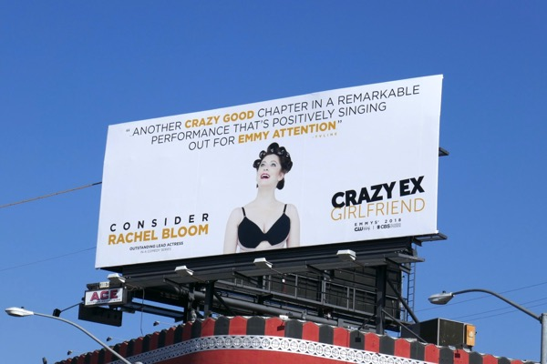 Crazy Ex-Girlfriend 2018 Emmy FYC billboard