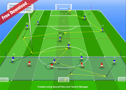 11 v 4 Build Up Play from the Back Practice