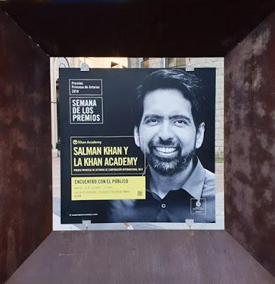 Oviedo. Premios Princesa de Asturias, Cooperación Internacional: Salman Khan y la Khan Academy