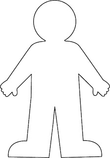 body outline for crafts