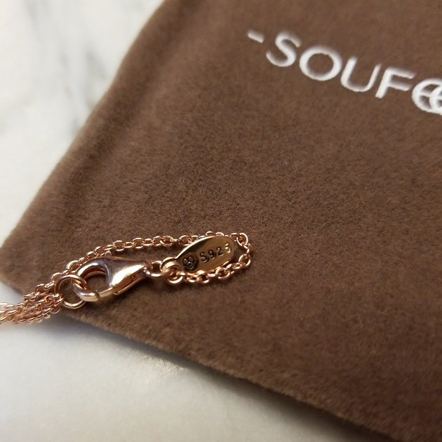 "Soufeel ""Close To My Heart"" Name Necklace"