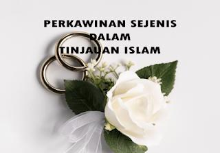 Perkawinan Sesama Jenis Dalam Tinjauan Islam