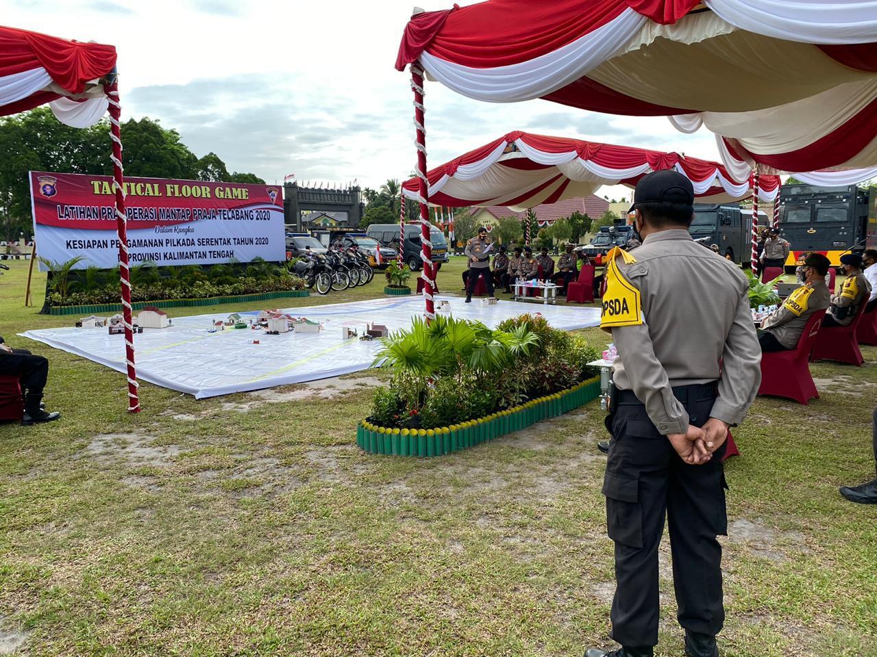 Siap Amankan Pilkada Tahun 2020, Brimob Kalteng Ikuti TFG Bersama Kapolda Terkait Plotingan Anggota Berdasakan Tupoksi