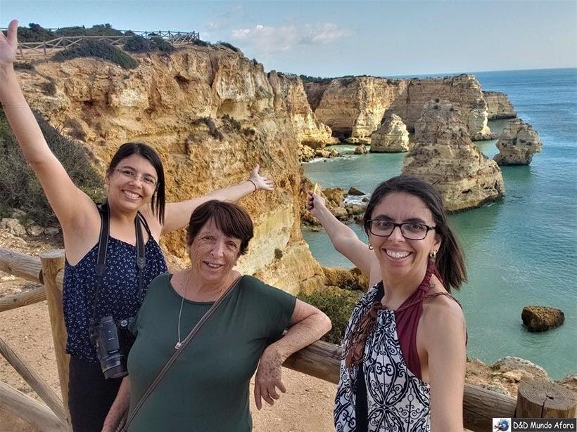 Chegando na Praia da Marinha - Algarve