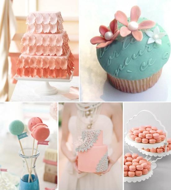La Casamiento: Peach & Turquoise Wedding