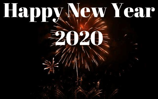 Happy New Year image 2020