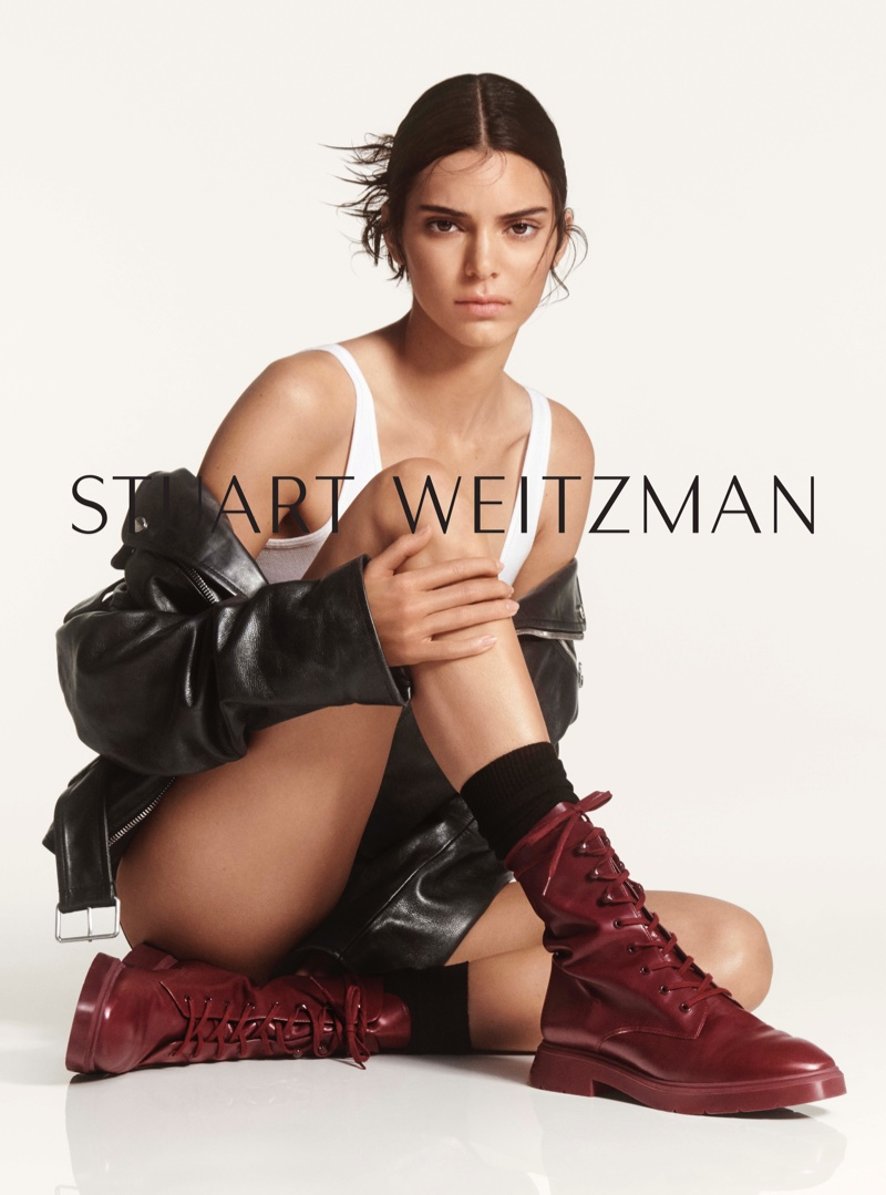 Kendall Jenner stars in Stuart Weitzman #SWSTRENGTH fall-winter 2019 campaign