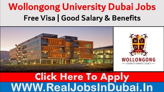 Wollongong University Jobs In Dubai - UAE 2020