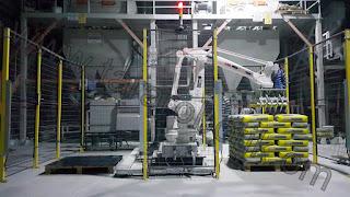 Torba Paletleme Robot Sistemi