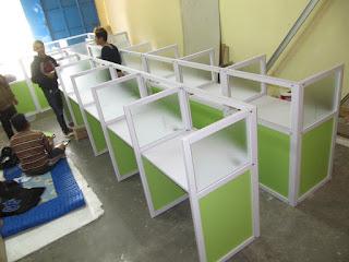 Kontraktor Furniture Meja Partisi + Furniture Semarang