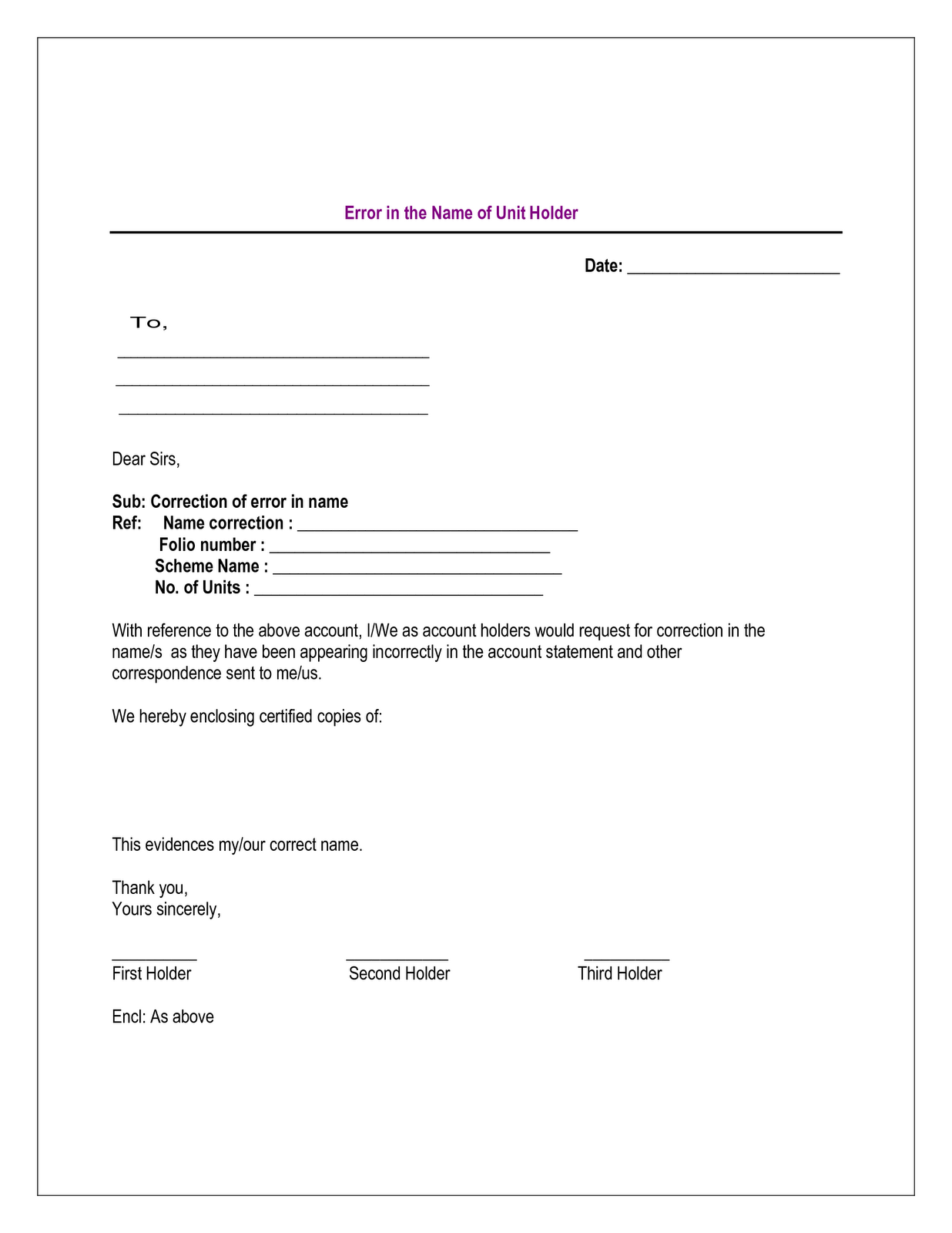 cover letter for change of name - letter to irs business name change change of address
