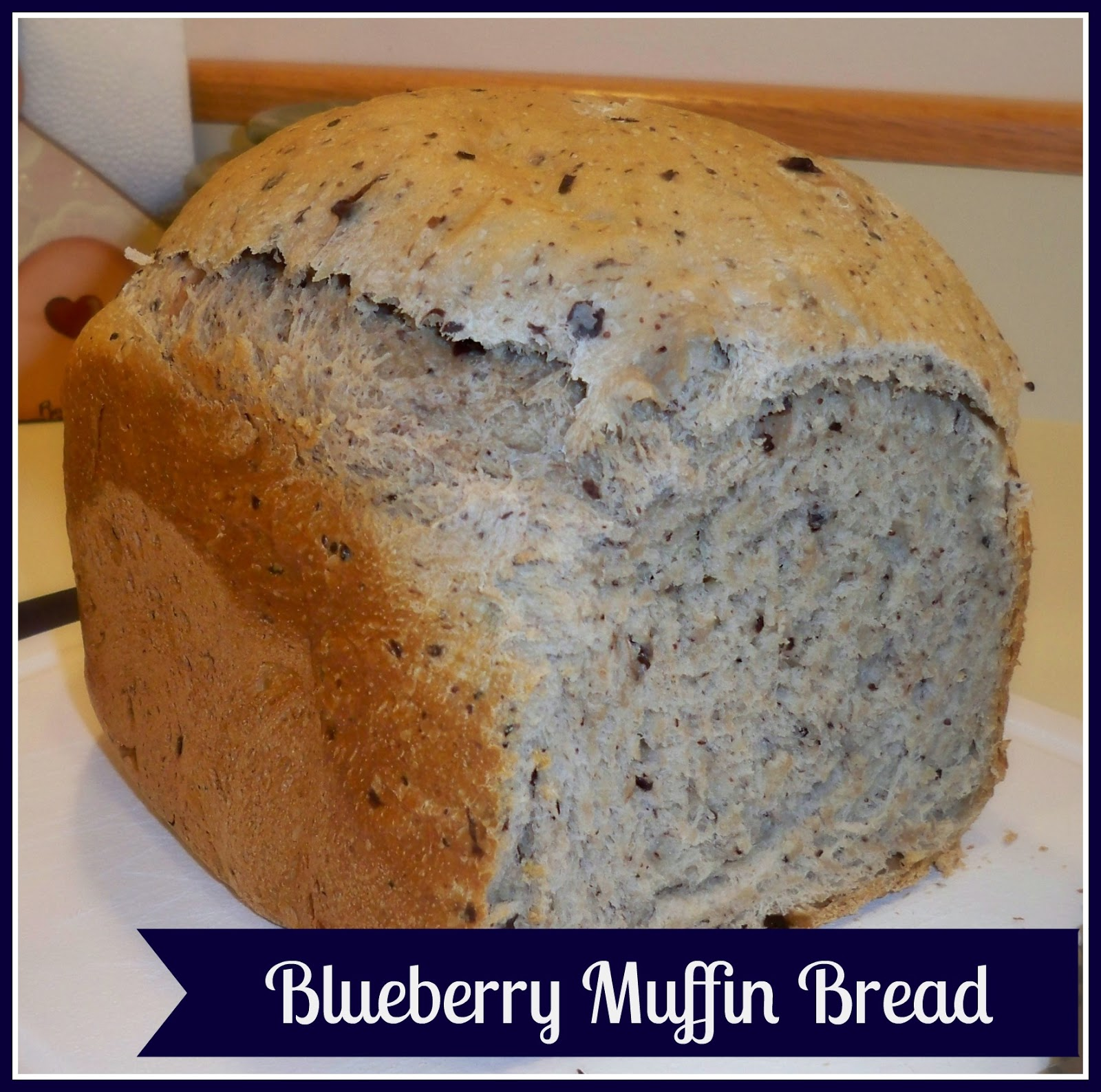 Easy as Pie: Blueberry Muffin Bread