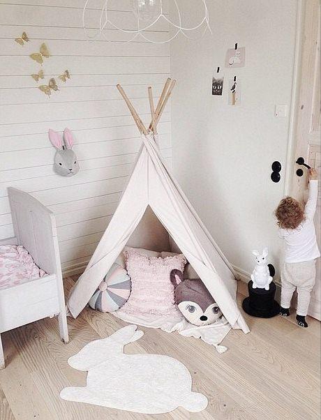 Tipi Pour Chambre : girlystan o trouver un tipi pour une chambre d 39 enfant ~ Teatrodelosmanantiales.com Idées de Décoration
