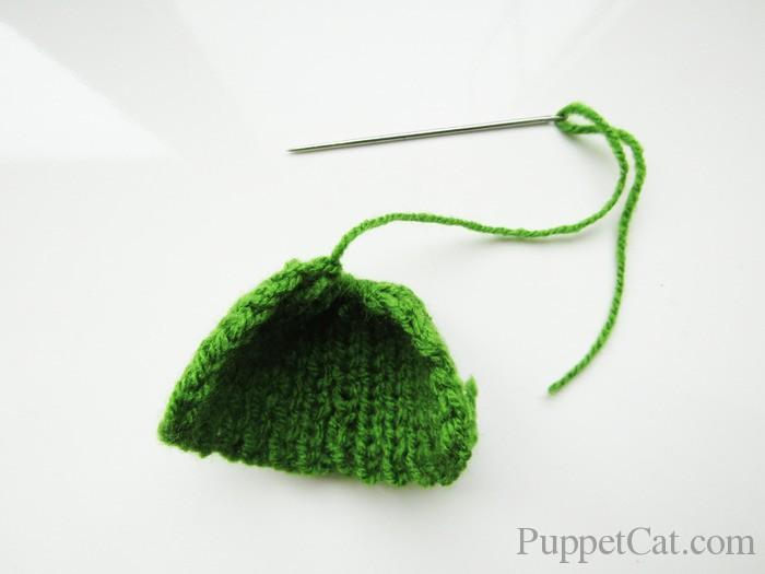 Вязанная шапка для куклы своими руками