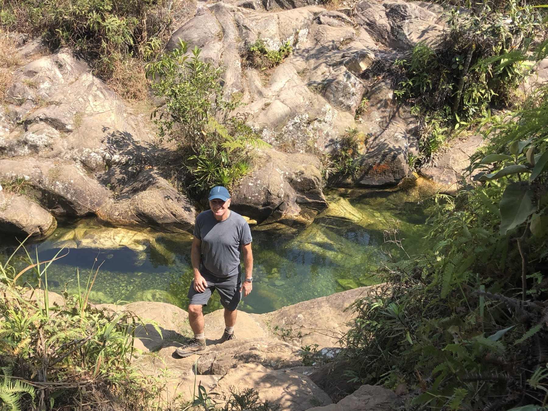 trilha Cachoeira do Mangue