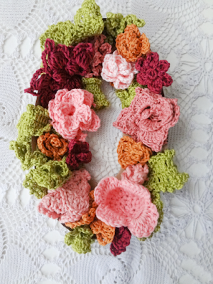 Crocheted Flower Numbers, Michele's pick!