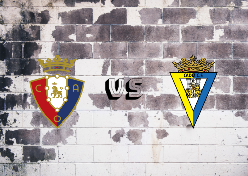 Osasuna vs Cádiz  Resumen