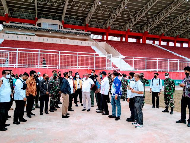 Mahfud MD dan Tito Karnavian Pastikan Persiapan Venue PON XX Papua di Merauke.lelemuku.com.jpg