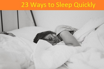 23 ways to sleep Quickly