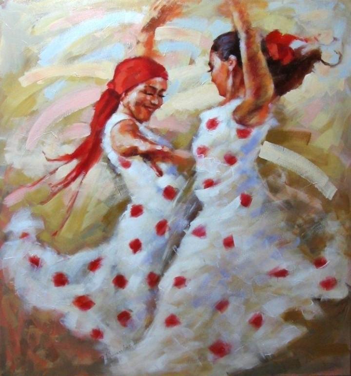 Энергичные картины художницы Renata Domagalska 15
