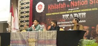 Diskusi Khilafah VS Nation State, DPC Ikadin Mataram Undang Gus Ulil dan Tokoh Ahmadiyah Sebagai Pembicara