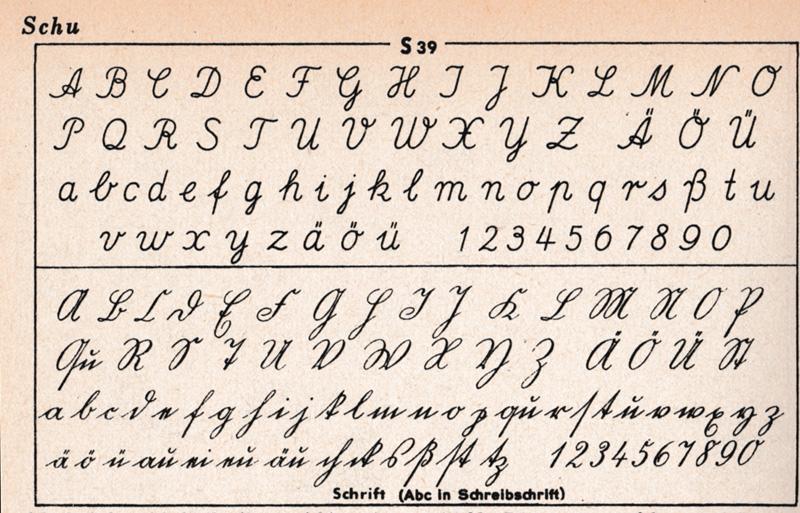 Das Geheime Abc Oder Der Brockhaus Von 1952 S39 Schreiben