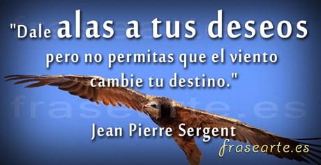 Frases para volar,  Jean Pierre Sergent