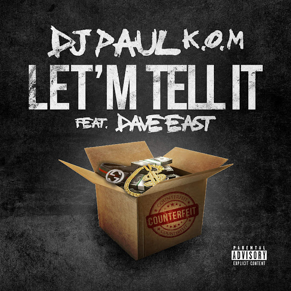 DJ Paul - Let'm Tell It - Single Cover