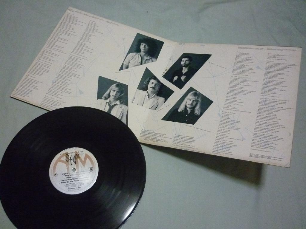 the good old things styx cornerstone 12 vinyl lp
