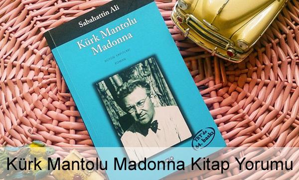 Kürk Mantolu Madonna Kitap Yorumu