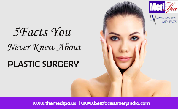 Five Facts You Never Knew About Plastic Surgery