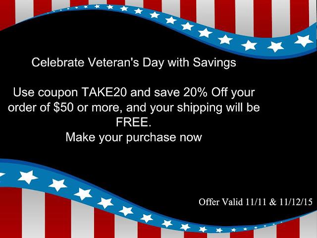 AVON Veterans Day Free Shipping