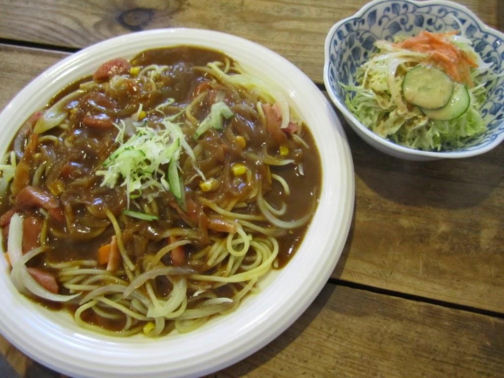 Curry Spaghetti Gaucho Towada Cafe カレースパゲッティ ガウチョ 十和田市 カフェ