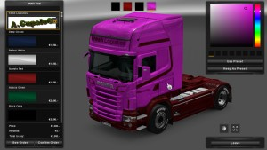 Fresh Logistics Skin for Scania RJL