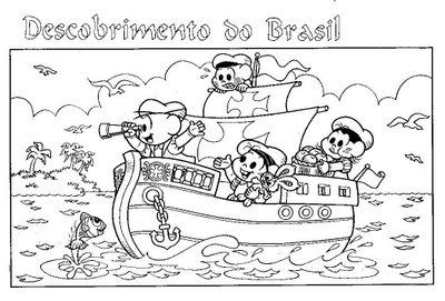 Turminha Do Yuri Descobrimento Do Brasil Colorir