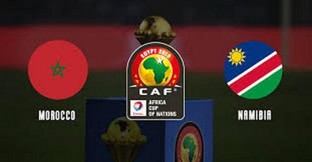 نتيجة مباراة المغرب وناميبيا في كاس امم افريقيا 2019