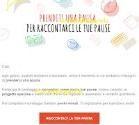 Logo Kinder : sondaggio ''Raccontaci la tua pausa'' per un progetto speciale
