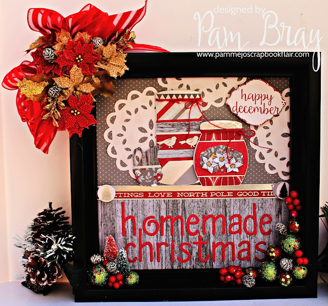 Scrapbook Flair: Pam Bray Designs: November 2016