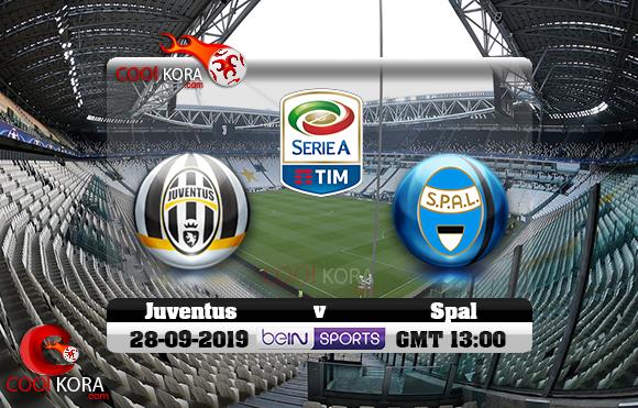 مشاهدة مباراة يوفنتوس وسبال اليوم 28-9-2019 في الدوري الإيطالي
