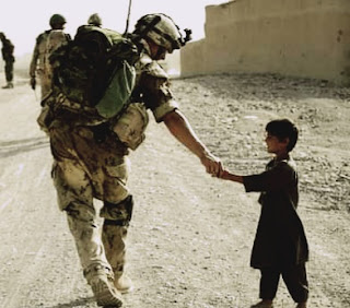 What was the need to destroy so many lives and resources in Afghanistan?
