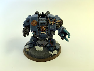 40k space wolves bjorn the fell handed - Autocannon front