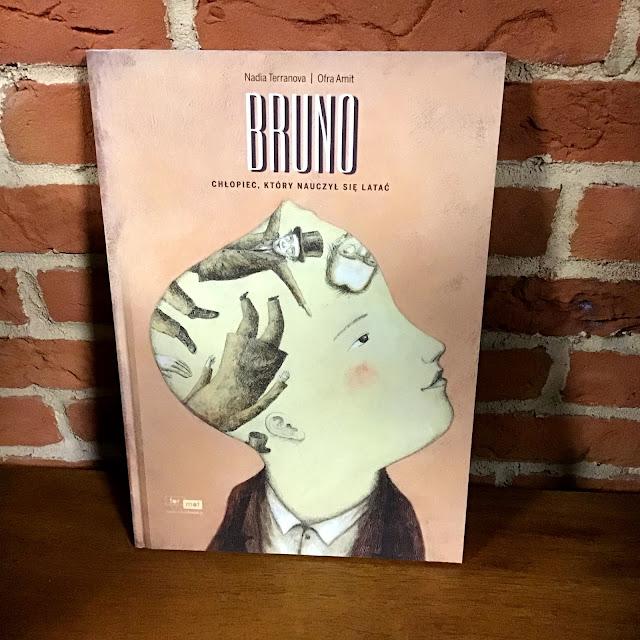 """""""Bruno. Chłopiec, który nauczył się latać"""", czyli marzyciel z bławatnego sklepu"""