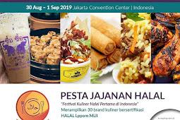 Pesta Jajanan Halal di Indonesia Muslim Lifestyle Festival 2019