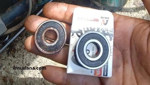 Laher bearing pompa air