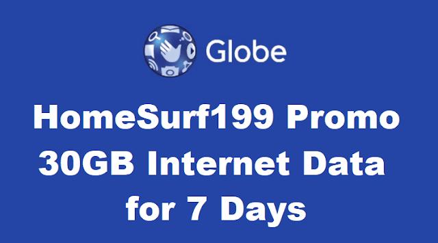 Globe HomeSurf199 Promo
