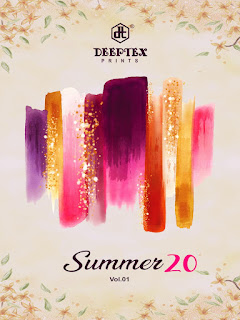 Deeptex Summer 20 Cotton Daily Wear Saree Collection